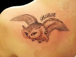 tribal owl tattoo 50 glossy owl tattoos on back