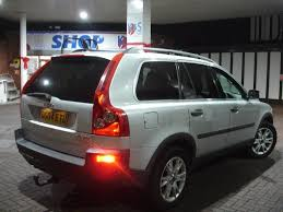 volvo jeep volvo xc90 2 4 d5 se g t automatic diesel 2004 plate 7 seater