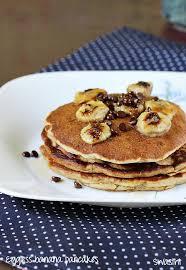 cuisine pancake eggless banana pancakes recipe how to eggless banana pancake