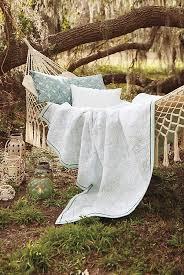 fringed macramé hammock anthropologie