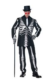 Skeleton Halloween Dress by Bone Daddy Skeleton Suit Costume