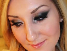 tiffanyd midnight black cat eye makeup tutorial 2 palette