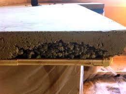 Sandpaper For Concrete Floor by Diy Concrete Countertop Tutorial