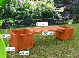 panchina in legno da esterno panchina da giardino in legno con fioriere a roma kijiji
