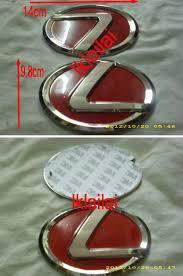 lexus red toyota lexus red logo emblem rm35 end 12 17 2017 4 44 pm