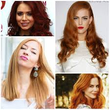 red hair colors and your skin tone u2013 best hair color trends 2017