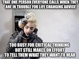 Meme Telephone - lady gaga telephone memes imgflip