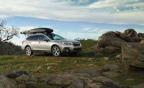 subaru outback 2018 white 2018 subaru outback in depth model review car and driver