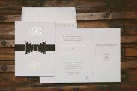 black tie wedding invitations custom gold foil black tie wedding invitations figura