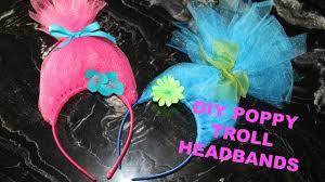 cheap headbands diy simple easy cheap poppy troll headbands
