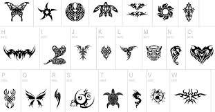 30 best free tattoo fonts 2015