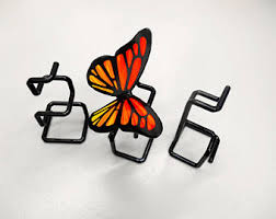 Butterfly Office Decor Butterfly Sculpture Etsy