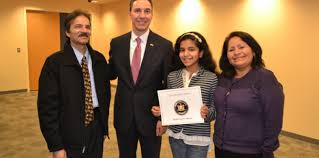 senator martins congratulates thanksgiving essay winners ny