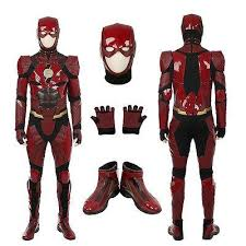 Legit Halloween Costumes Cosplay Buy Pretty Legit Flash Suit Ebay Dc Cinematic
