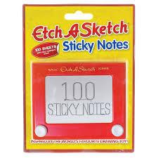 amazon com paladone toy box etch a sketch sticky notes toys u0026 games