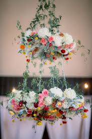 Wedding Flowers For Guests 23 Stunning Wedding Flower Chandelier Ideas Wow Your Guests