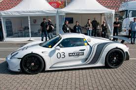 martini porsche 918 first modified porsche 918 spyder