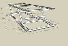 motorcycle lift table plans lift cost breakdown could use angle iron as well motorcyle lifts