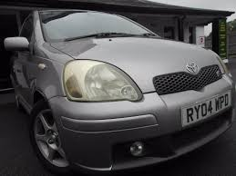 used toyota yaris t sport manual cars for sale motors co uk