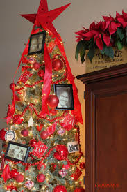 Christmas Tree Ideas 2015 Red Christmas Tree Decor Archives Confettistyle