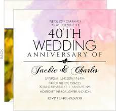 40th anniversary invitations 40th wedding anniversary invitations 40th wedding anniversary