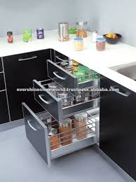 kitchen cabinets baskets modular kitchen baskets designs home design plan