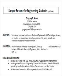Objectives Sample For Resume by 7 Career Objectives Sample Examples In Word Pdf
