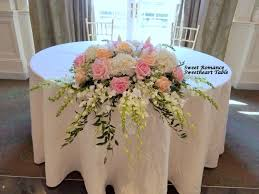 Table Flowers by Reception Sweetheart U0026 Card Table Flowers