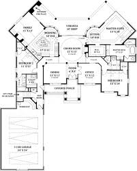 lady la salette ranch home plans courtyard house plans