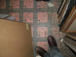 Red Brick Linoleum Flooring by Linoleum Floors Time Tells