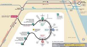 Train Map New York by Map Of Nyc Airport Transportation U0026 Terminal