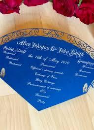 Printed Wedding Programs Programs Shimmering Ceremony