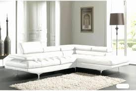 canapé design cuir pas cher 15 beau canapé d angle cuir blanc tourdesingkarak com