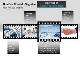 powerpoint timeline film roll
