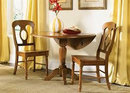 Drop Leaf Pedestal Table Country Drop Leaf Pedestal Table 3 Set In Suntan Bronze