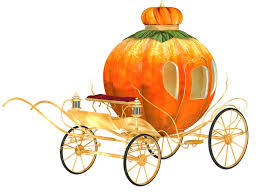 pumpkin carriage cinderella fairy tale pumpkin carriage isolated wall mural