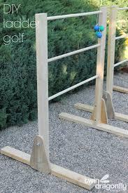 diy ladder golf game dragonfly designs