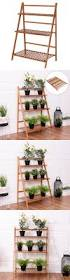 plant stand plant stands tier outdoor bamboo flower pot shelf