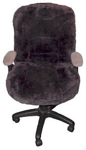 large chair covers large sheepskin office chair covers