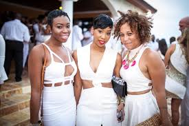 all white party 242 socialites show out at all white party elife 242 magazine