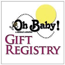 baby gift registry baby gift registry oh baby