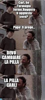 Carl Walking Dead Meme - pilla carl walking dead meme on memegen