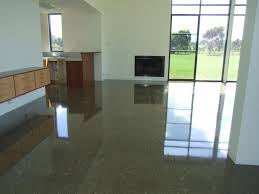 are the advantages of polished concrete floors in the home benefits of concrete flooring