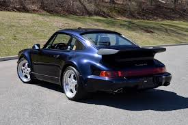 porsche 911 turbo 80s collectorscarworld com 1994 porsche 911 964 3 6 turbo coupe