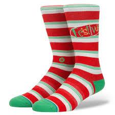 mens christmas socks mens christmas socks by stance