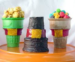 edible pilgrim hats family crafts