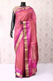 Buy Royal Blue Pure Silk Blue Multi Colour Pure Banarasi Silk Saree With Multi Colour