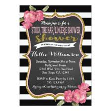 stock the bar shower stock the bar shower invitations announcements zazzle