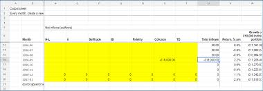 Sample Stock Portfolio Spreadsheet My Investment Tracking Spreadsheet Fire V London