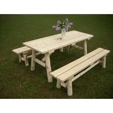 Outdoor Tables And Benches Rustic Patio Furniture Shop The Best Outdoor Seating U0026 Dining